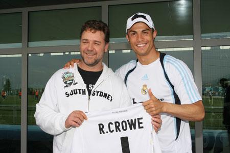 Russell Crowe y Ronaldo