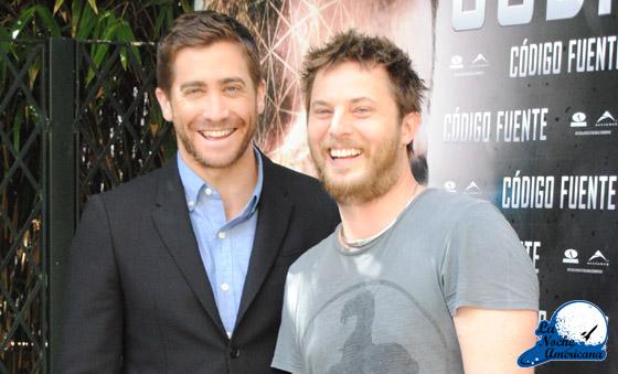 Duncan Jones y Jake Gyllenhaal