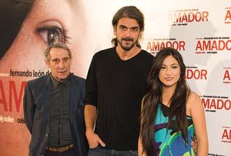 Fernando León, Celso Burgallo y Magaly Solier