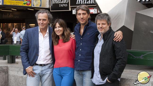 José Coronado, Mercedes Morán, Alberto Ammann y Miguel Cohan
