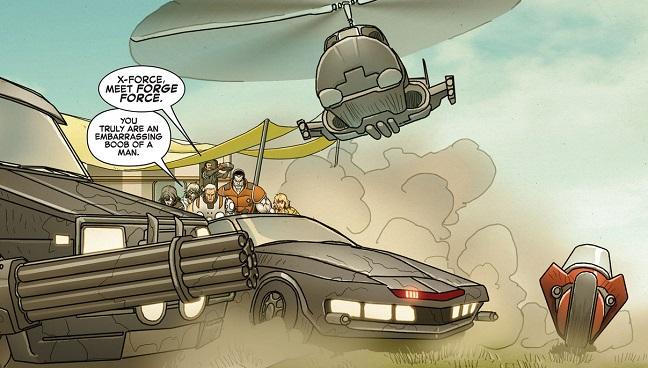 Cable y X-Force #2: Vivo o Muerto