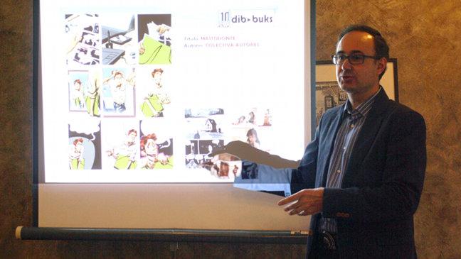 Ricardo Esteban, editor de Dibbuks