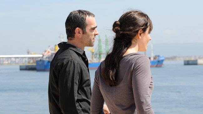 Bárbara Lennie y Luis Tosar en El niño