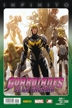 Guardianes e la Galaxia #8