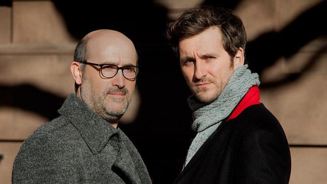 Javier Cámara y Raúl Arévalo