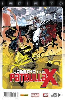 Lobezno y la Patrulla-X #21