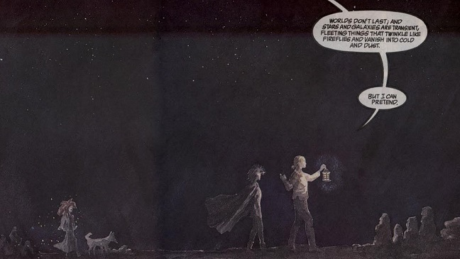 Sandman #7: Vidas Breves