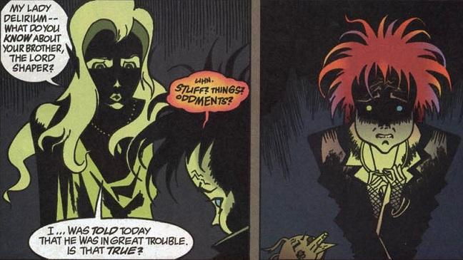Sandman #9: Las Benévolas