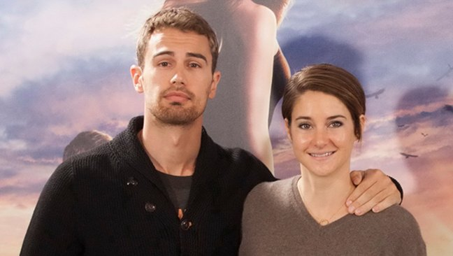 Shailene Woodley y Theo James