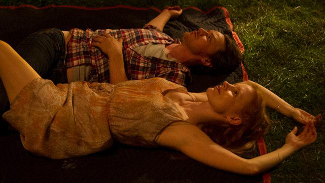 Jessica Chastain y James McAvoy en La desaparición de Eleanor Rigby