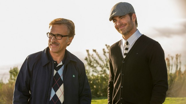 Christoph Waltz y Chris Pine
