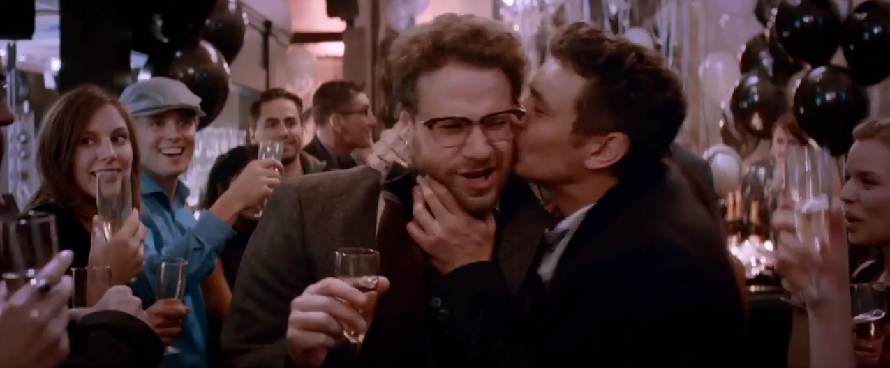 Seth Rogen y James Franco en un fotograma de The Interview