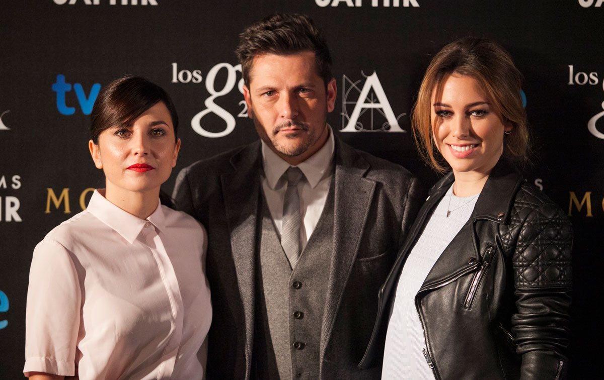Mairán Álvarez, Kike Maíllo y Blanca Suárez