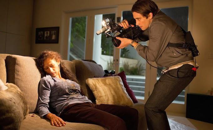 Jake Gyllenhaal en un fotograma de Nightcrawler