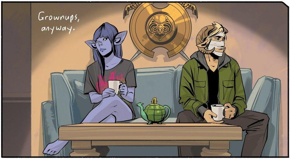 Ginny y Marko, de Saga