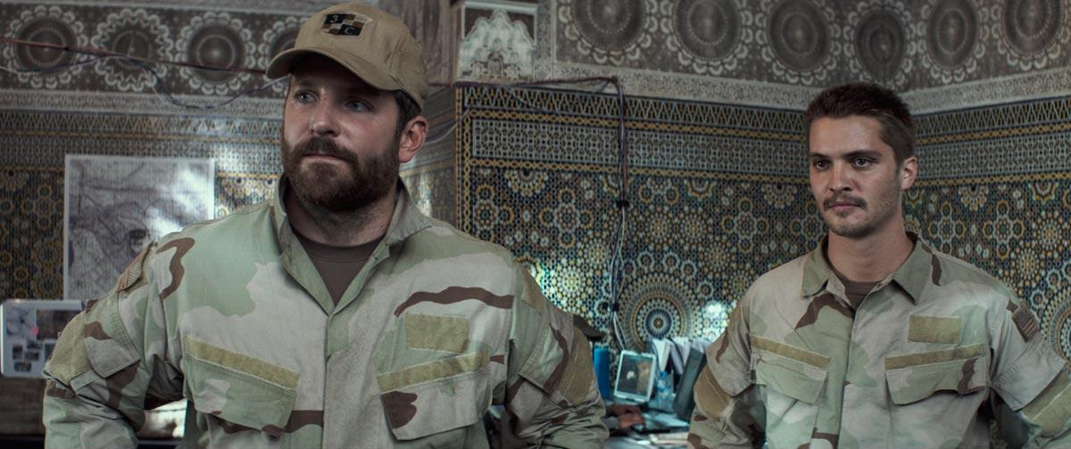 Bradley Cooper y Jake McDormand