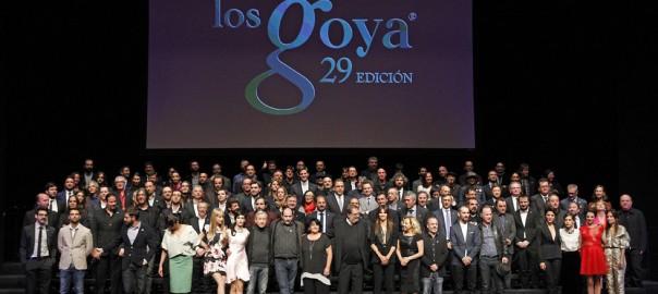 Los nominados a la 29ª edición de los Premios Goya
