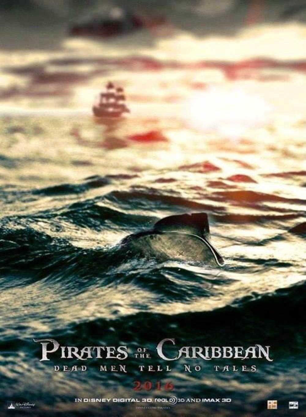 Piratas del caribe: Dead Men Tell No Lies