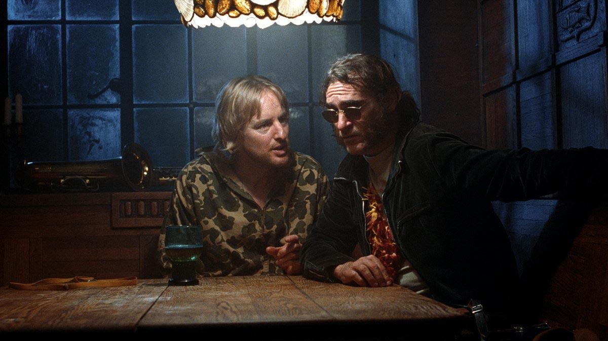 Owen Wilson y Joaquin Phoenix