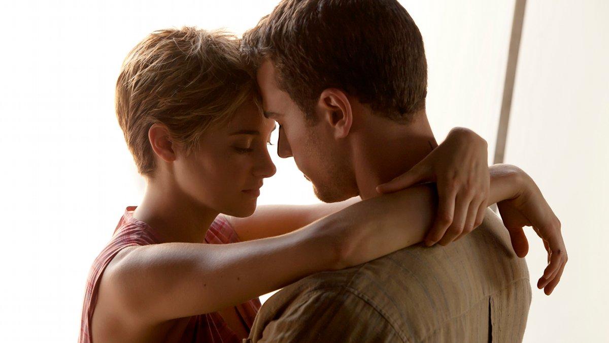 Shailene Woodley y Theo James