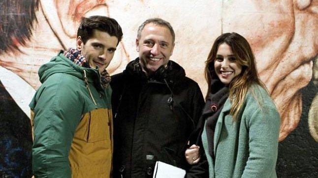 Yon González, Nacho G. Velilla y Blanca Suárez