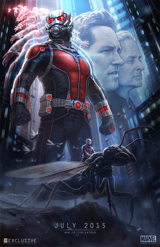 Cartel para la película Ant-Man