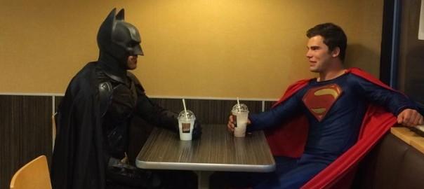 Cosplay Batman y Superman