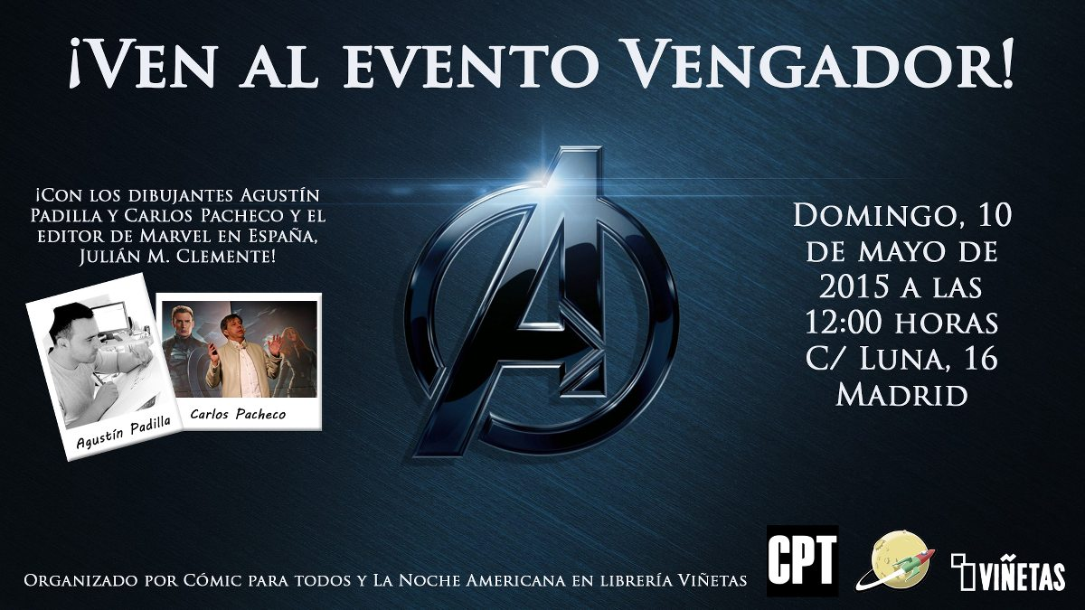 Evento Vengador