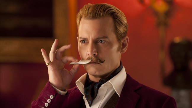 Johnny Depp en Mortdecai