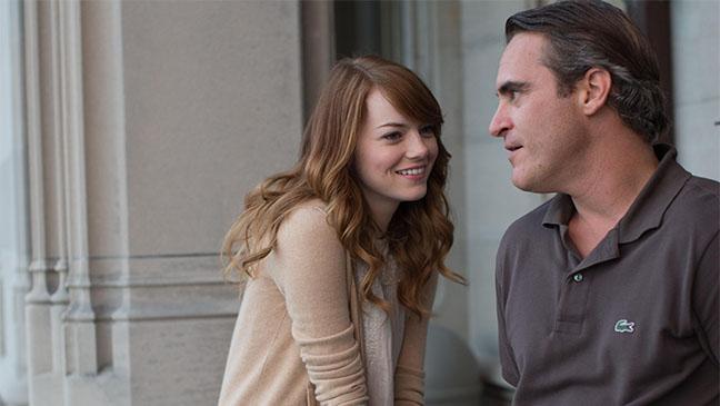 Emma Stone y Joaquin Phoenix