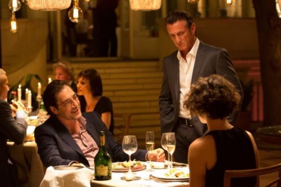 Sean Penn, Javier Bardem y Jasmine Trinca en Caza al asesino.