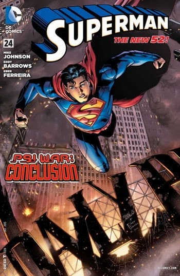 Portada de Superman #24