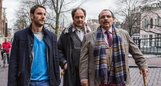 Dani Rovira, Jordi Sánchez y Joaquín Núñez