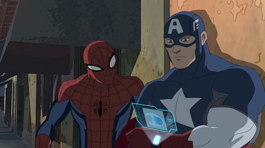 Spiderman y Capitán América