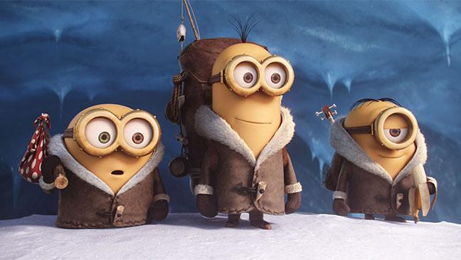 """Bob, Kevin y Stuart en """"Los MInions"""""""