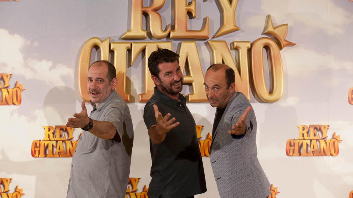 Karra Elejalde, Arturo Valls y Manuel Manquiña