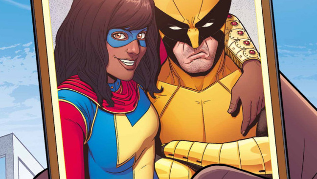 Ms. Marvel y Lobezno