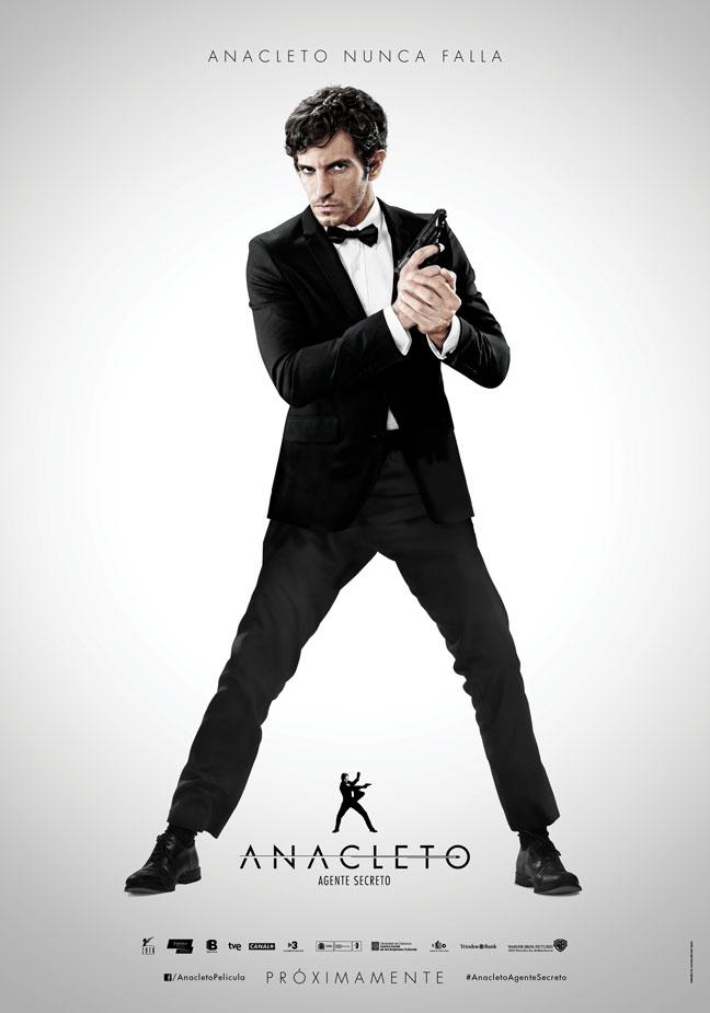 Cartel de 'Anacleto: Agente secreto'