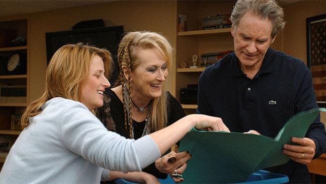 Meryl Streep, Mamie Gummer y Kevin Kline en Ricki