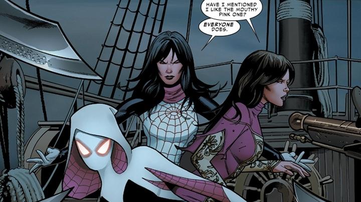 Spiderwoman, Seda y Spider-Gwen