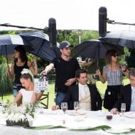 Michelle Jenner, Verónica Forqué, Óscar Ladoire y Hugo Silva