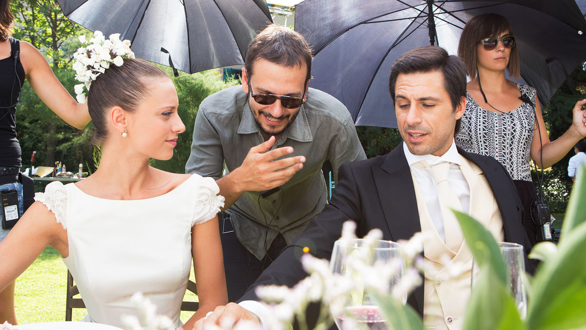 Michelle Jenner, David Serrano y Hugo Silva