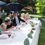 David Serrano, Michelle Jenner, Verónica Forqué, Óscar Ladoire y Hugo Silva