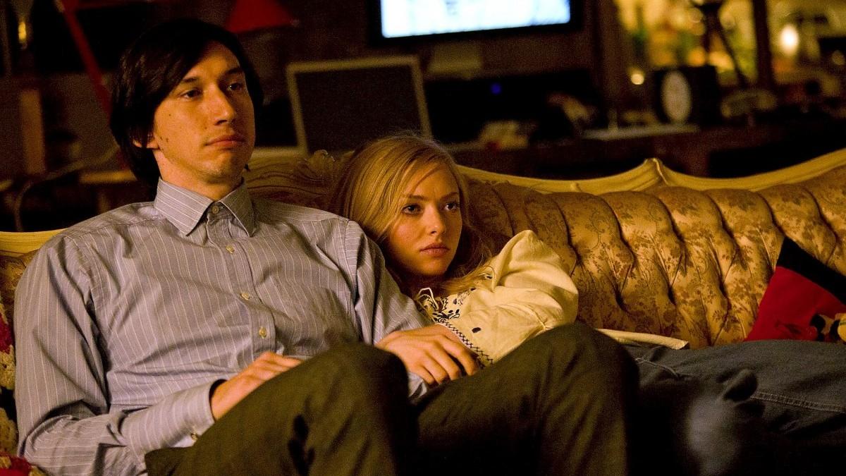 Adam Driver y Amanda Seyfried