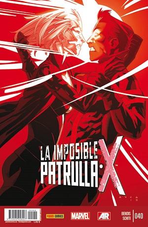 La Imposible Patrulla-X #40