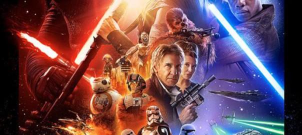 Póster oficial de Star Wars: El despertar de la Fuerza