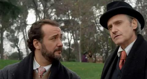Peliculón. Holmes & Watson. Madrid days. En esta peli salía hasta Gallardón.