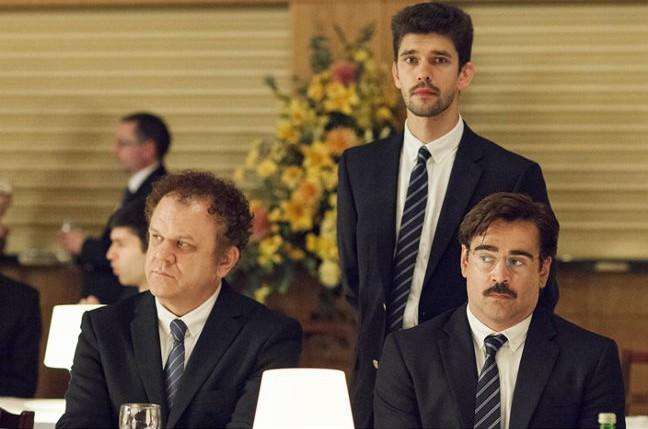 Colin Farrell, John C. Reilly y Ben Whishaw buscando pareja.