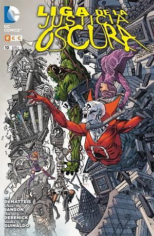 Liga de la Justicia Oscura #10