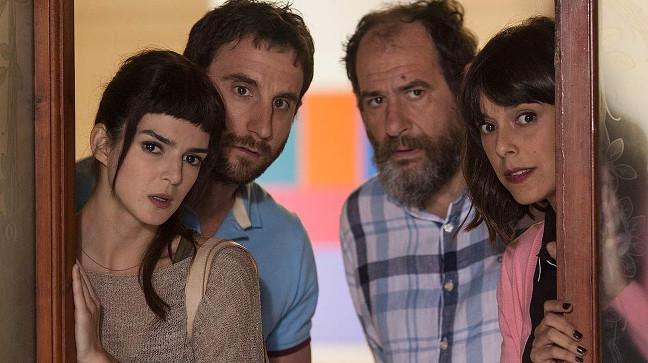 Clara Lago, Dani Rovira y Karra Elejalde